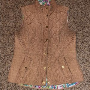 Lilly Pulitzer Blake quilted vest